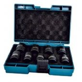 "Makita 9 Piece ½"" CR-MO Impact Socket Set (D-41517)"
